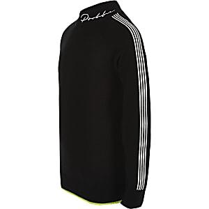 Prolific - Zwarte pullover met col voor jongens