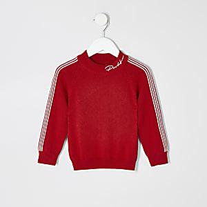 """Mini – Rotes Sweatshirt """"Prolific"""" für Jungen"""