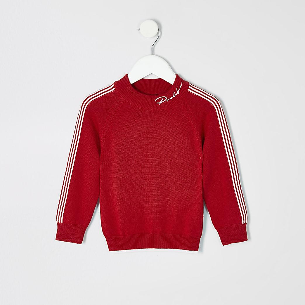 Mini boys red Prolific sweatshirt