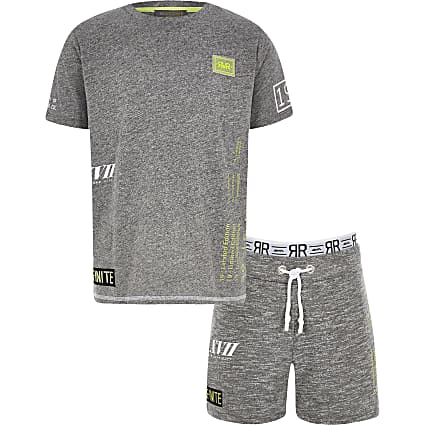 Boys RI Active grey short outfit