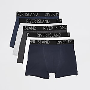 Multipack RI-boxershirts in meerdere kleuren voor jongens