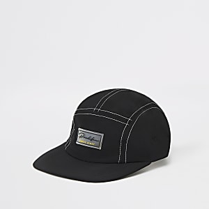 Black 'Prolific' 5 panel cap