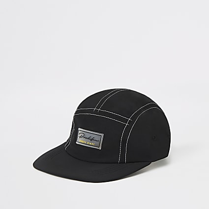 Black Prolific 5 panel cap