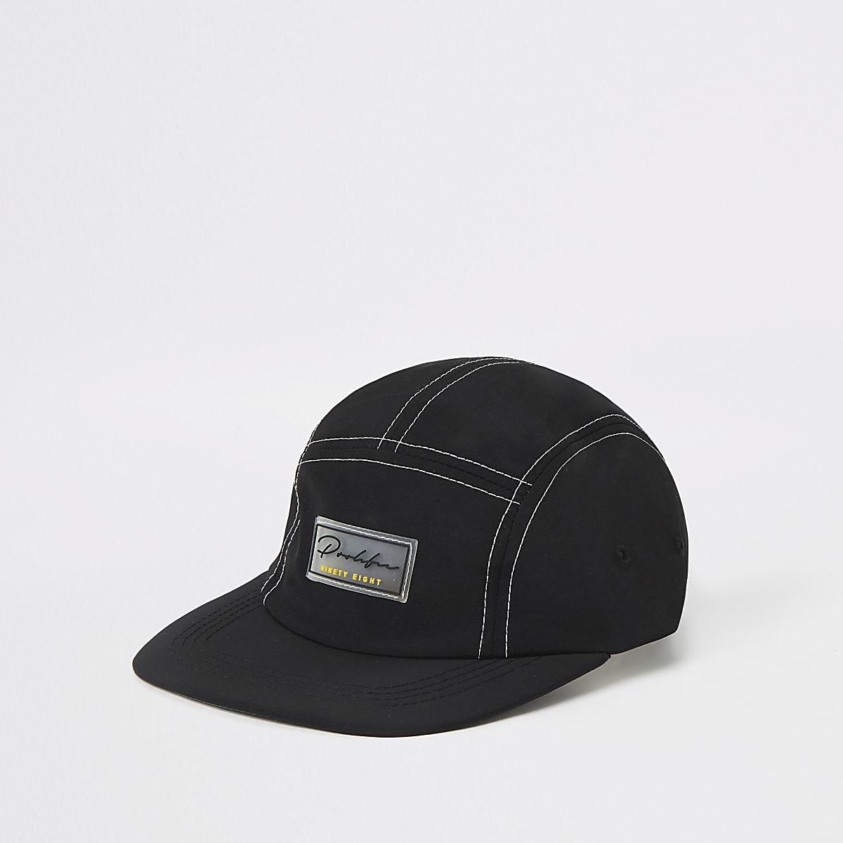Black Prolific 5 panel cap