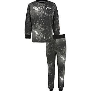 Ensemble pyjama MCMLXVIII noir pour garçon