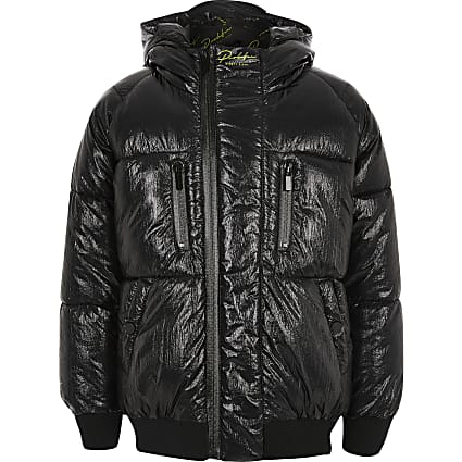 Boys black Prolific puffer jacket