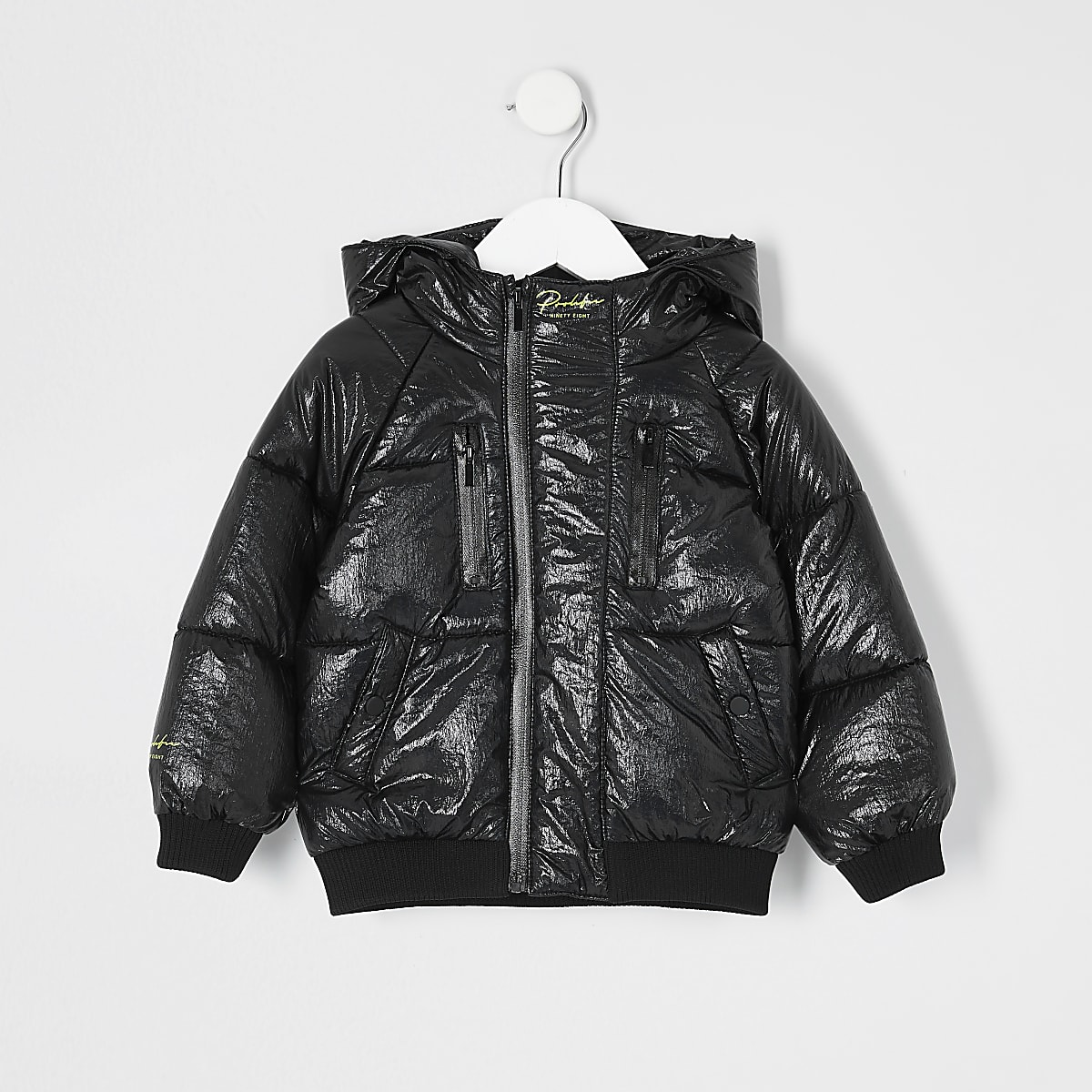 Mini boys black Prolific puffer jacket