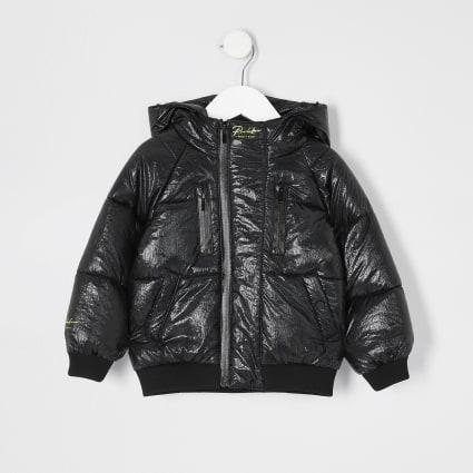 Mini boys black Prolific puffer jacket