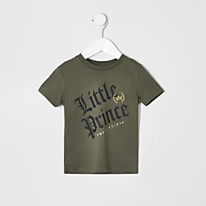 Mini boys 'Little prince' T-shirt
