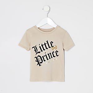 "Steingraues T-Shirt ""Mini Prince"""