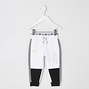 RI Active – Pantalon de jogging blanc à bandes pour garçon