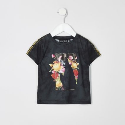 Mini boys Snoop Dogg print T-shirt