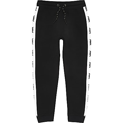 Boys black RI joggers