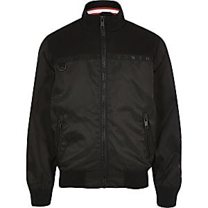 SVNTH – Schwarze, langärmlige Jacke