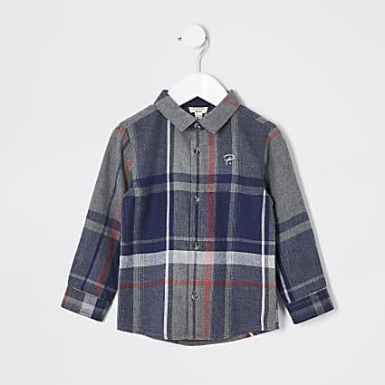 Mini boys Prolific check shirt