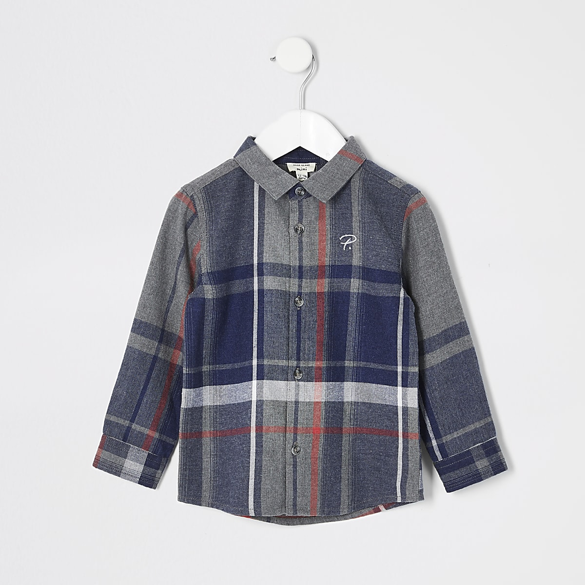 Mini boys Prolific check shirt