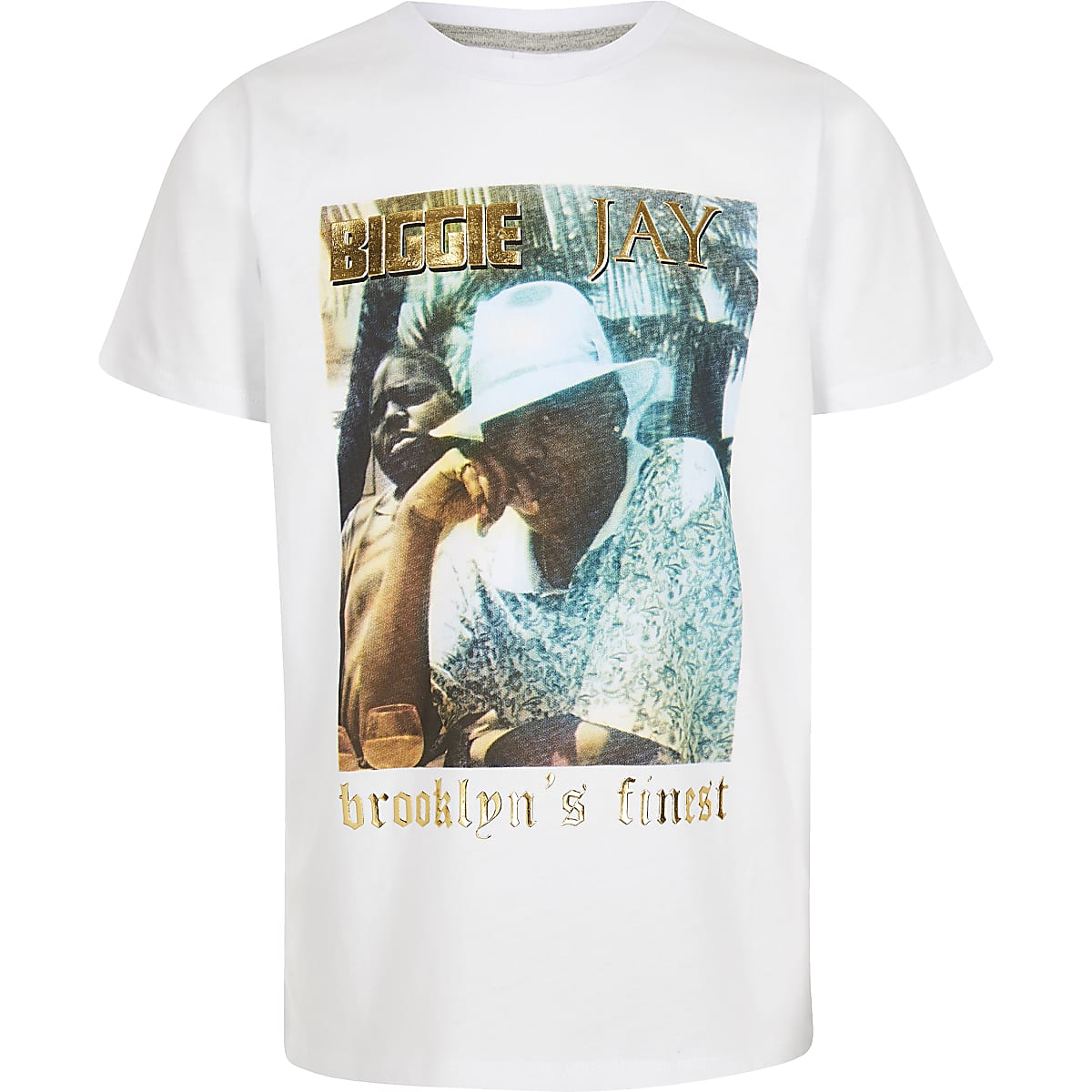 Boys 'Brooklyn's finest' T-shirt