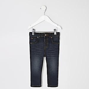 Dunkelblaue Skinny Sid Jeans für kleine Jungen