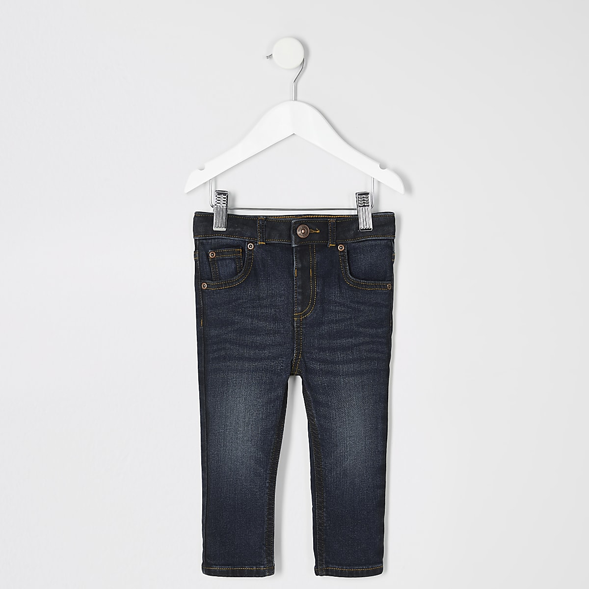 Mini boys dark blue skinny Sid jeans