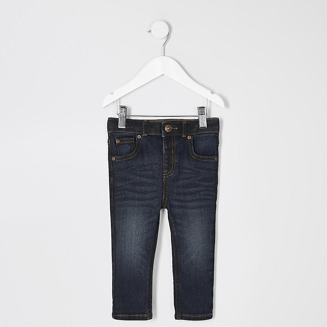 Mini boys dark blue skinny Sid jeans