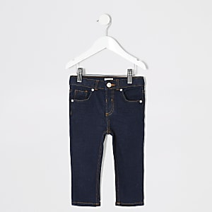 Mini - Sid - Donkere denim skinny jeans voor jongens
