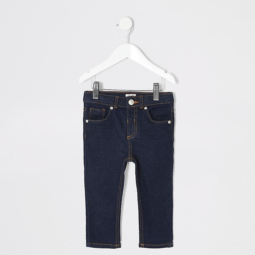 Mini boys Sid dark denim skinny jeans