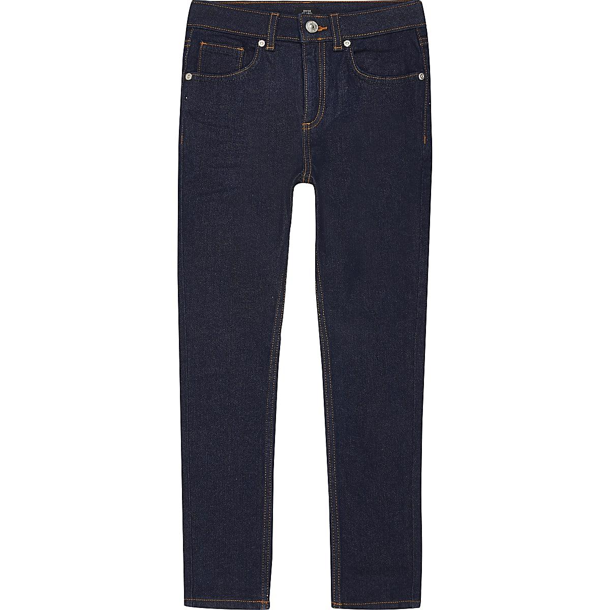 Dunkelblaue Skinny Sid Jeans für Jungen