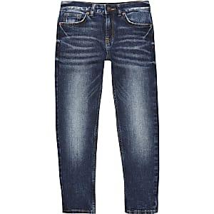 Jake - Jeans en denim bleu foncé« coupe classique »