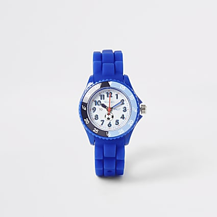 Kids Tikkers blue time teacher sports watch