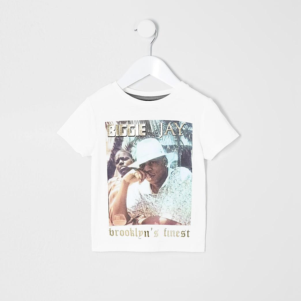 Mini boys 'Brooklyn's finest' T-shirt