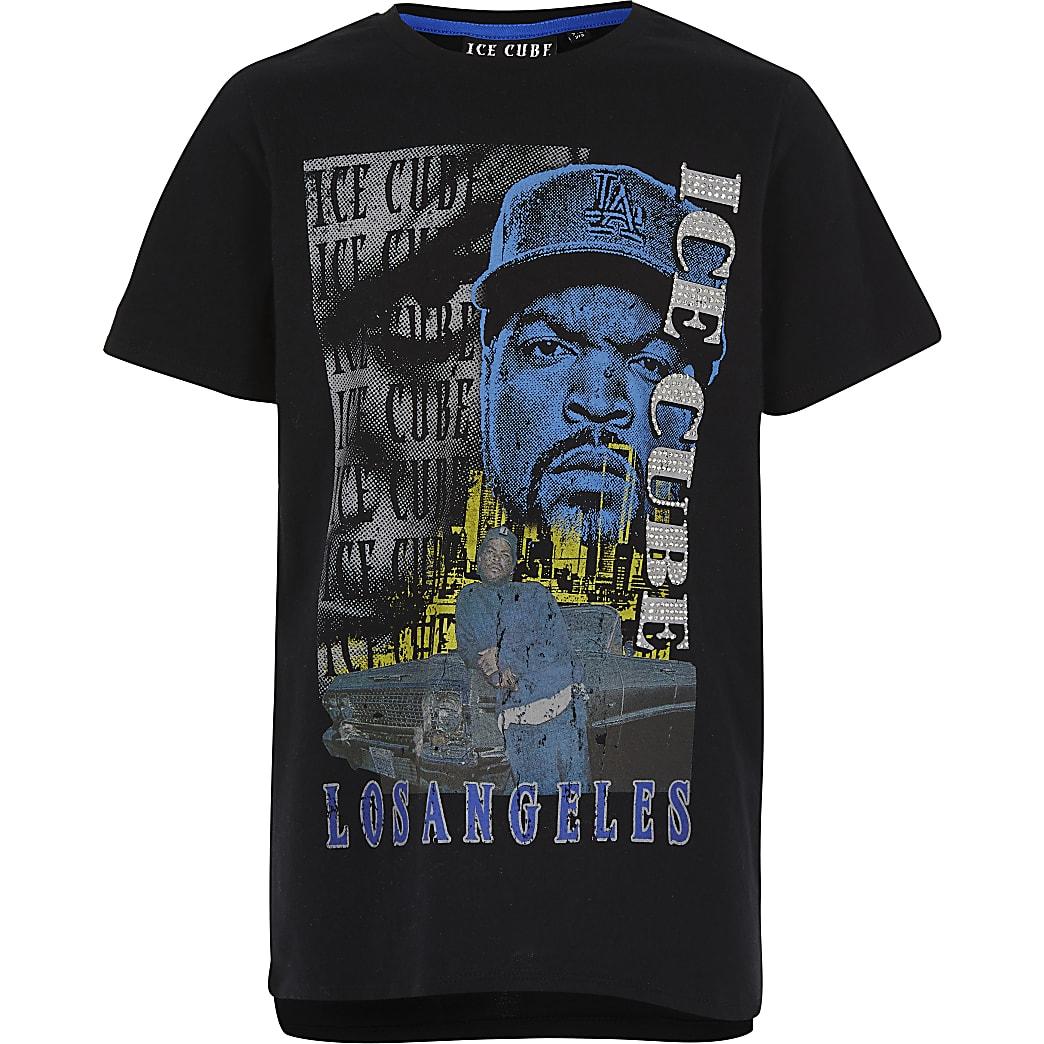 Boys Ice Cube print T-shirt