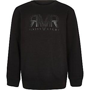 RI – Schwarzes Sweatshirt