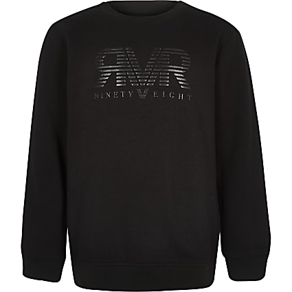 Boys black RI sweatshirt