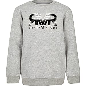 Boys grey RI sweatshirt
