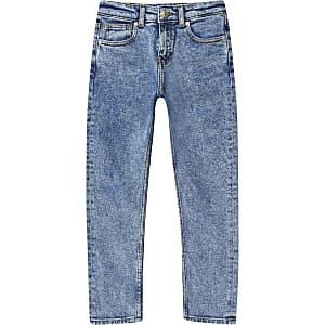 Jake – Jean classique bleu moyen pour garçon