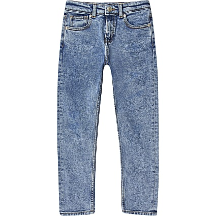 Boys mid blue Jake 'regular fit' jeans