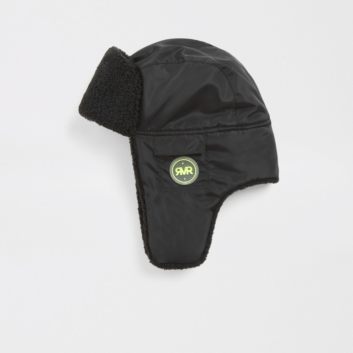 Boys black borg hat
