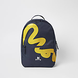 Boys Money Clothing black logo backpack