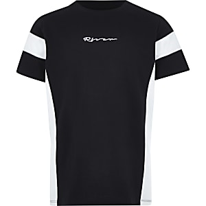 Boys black 'River' T-shirt