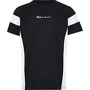 """Schwarzes T-Shirt """"River"""""""