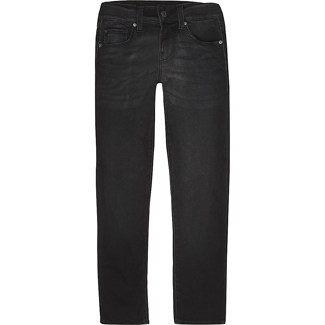 G-Start Raw- Zwarte skinny denim jeans voor jongens