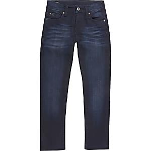G-Star Raw - Jeans slim 3301 bleus pour garçon