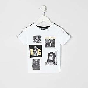 Mini boys Notorious B.I.G. print T-shirt