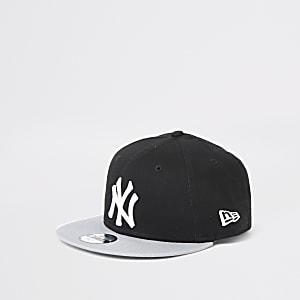 New Era – Casquette «NY» noire pour garçon