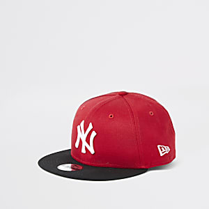 Boys New Era NY red cap