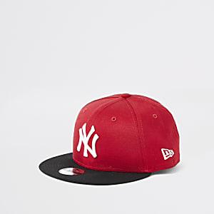 New Era – NY – Casquette rouge pour garçon