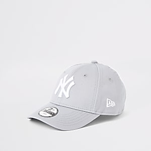 Mini boys New Era NY grey cap