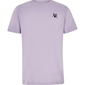 Boys purple RI T-shirt