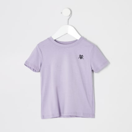 Mini boys purple RI T-shirt