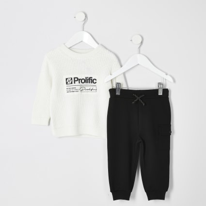 Black Prolific utility joggers outfit